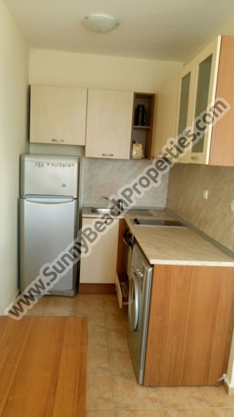 Furnished 1-bedroom penthouse apartment for sale in Sunny day 1 150 m. from the beach in Sunny beach, Bulgaria