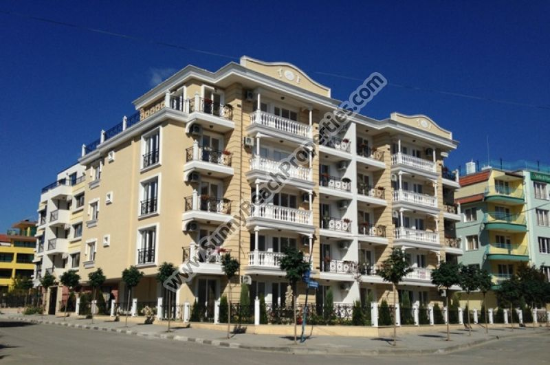 2-bedroom apartments for sale in luxury residential building Villa Katerina 150m from the beach in Ravda, Bulgaria