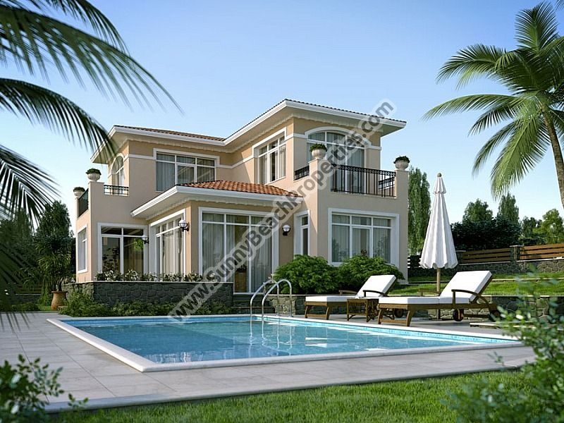 Luxury 2, 3 § 4-bedroom  detached houses in villa complex  6km from the beach in Sunny beach