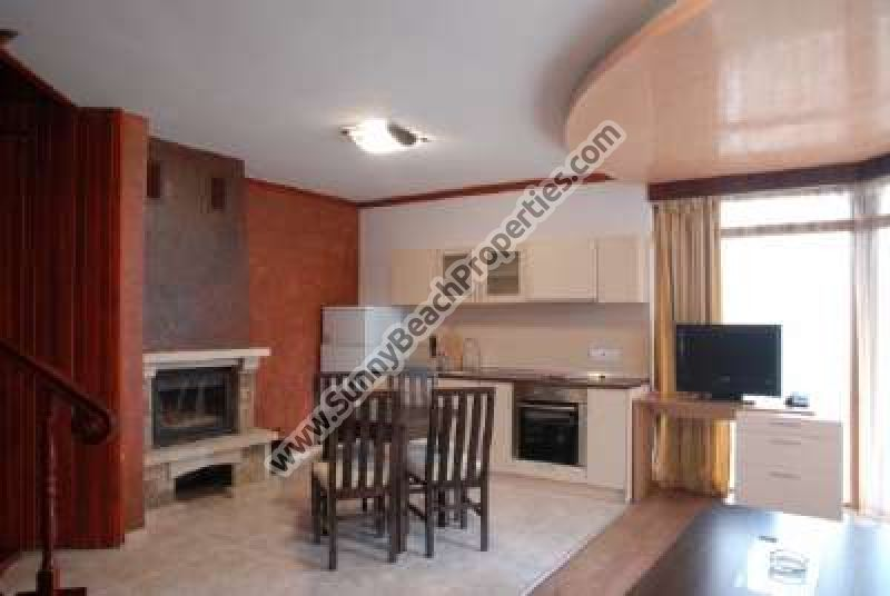 2-bedroom ski chalettes with fireplace for rent  600m. from the ski lift in Pamporovo ski resort, Bulgaria