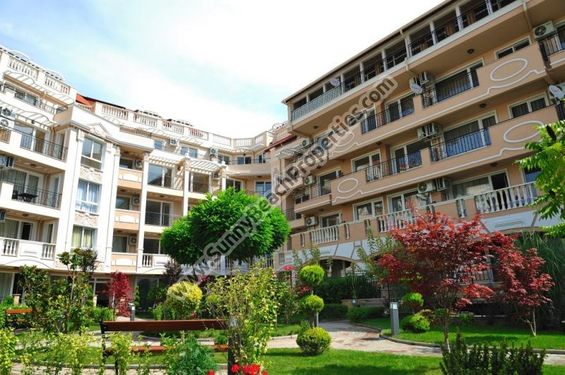 1-bedroom apartments in complex Mellia Resort Nessebar 5min from beach