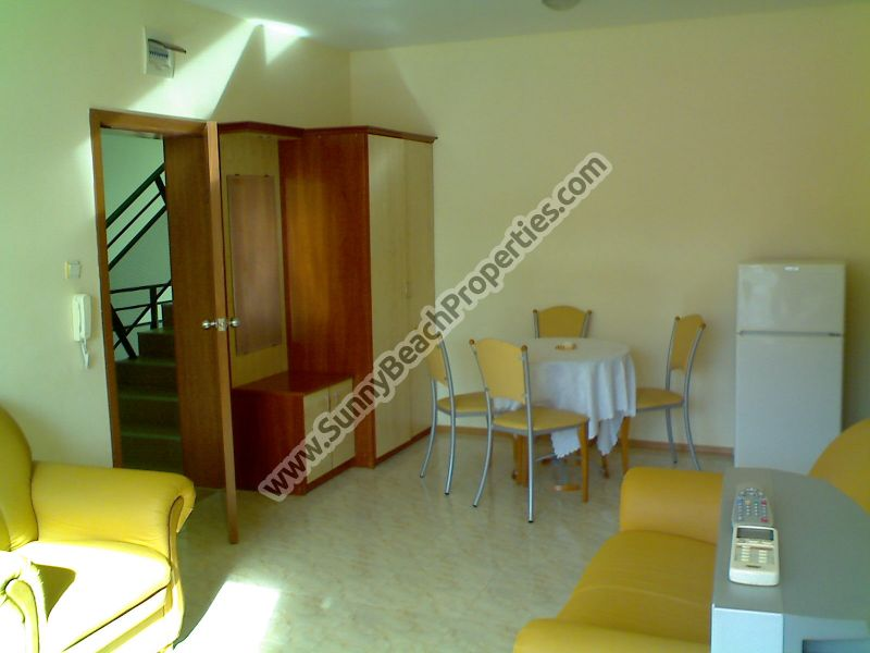 Fully furnished 1-bedroom apartment for sale in Elite 1 only 150m. from the beach in Sunny beach, Bulgaria