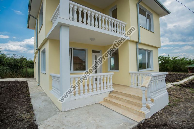 Two-storey 3-bedroom/2-bathroom house for sale in the village of Trastikovo, 20km from beach, Bourgas, Bulgaria