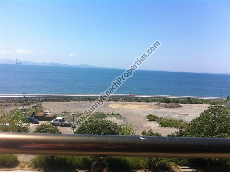 Sea view 1-bedroom apartments for sale in residential building Neptun Anhialo 50m. from beach  in Pomorie,  Bulgaria