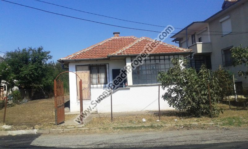 Detached renovated half-furnished 1-bedroom house for sale in Tankovo village 5km from the beach in Sunny beach, Bulgaria