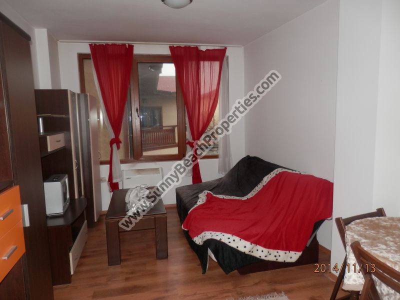 Furnished 1-bedroom apartment for rent in 500m. from the ski lift in Bansko, Bulgaria