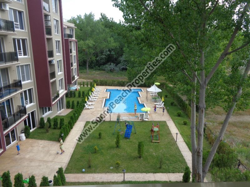 Park  view luxury 1-bedroom apartment  for sale in complex VIP Park 300 m. from beach Sunny beach, Bulgaria