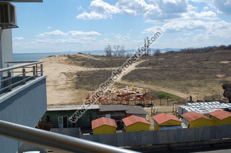 Beachfront sea view 1-bedroom apartment for sale in Crystal Palace 20m from sea in Nessebar , Bulgaria