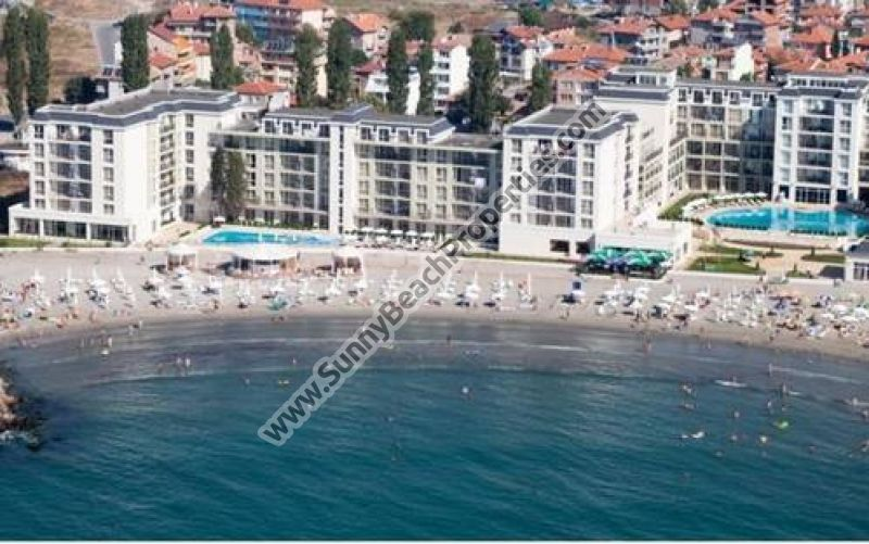 Sea view furnished 1-bedroom apartment  for sale in 4**** aparthotel Festa Pomorie Resort, Bulgaria