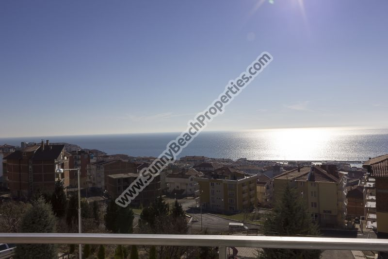 Sea and forest view furnished 2-bedroom apartment for sale in Tower Hill 1, 500m from beach Saint Vlas, Bulgaria