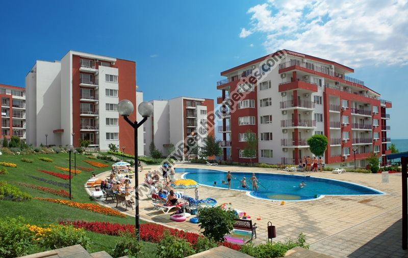 Studios for rent in beachfront Marina View in Grand Fort Resort  on the beach in Elenite resort Bulgaria