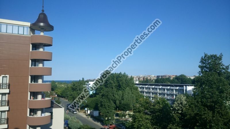 Sea view 1-bedroom apartment for sale in 4**** Karolina 70 meters from the beach in Sunny beach, Bulgaria