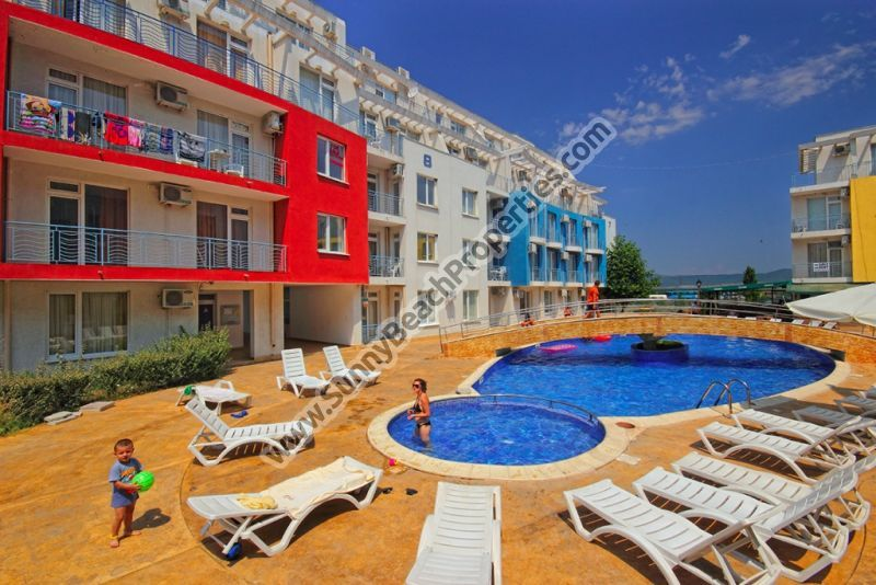 1-bedroom apartment for sale in Sunny day 3 1000 m. from the beach in Sunny beach, Bulgaria