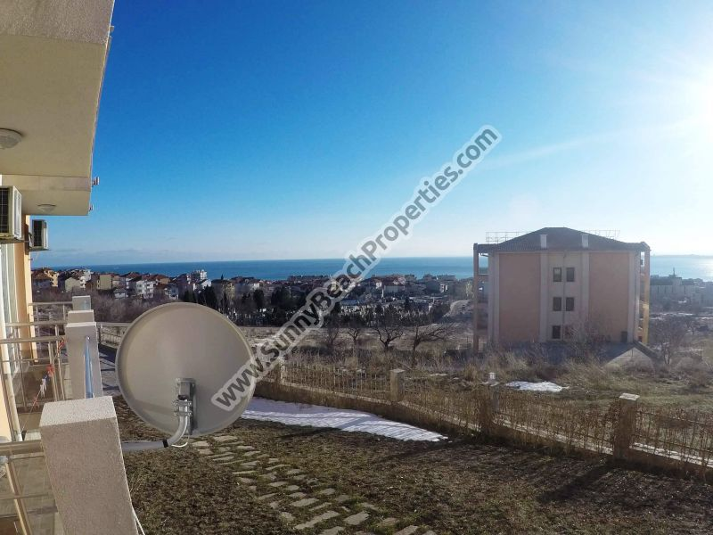 Sea view studio apartment for sale in Orhideya Residence 800m from beach, Sveti Vlas, Bulgaria