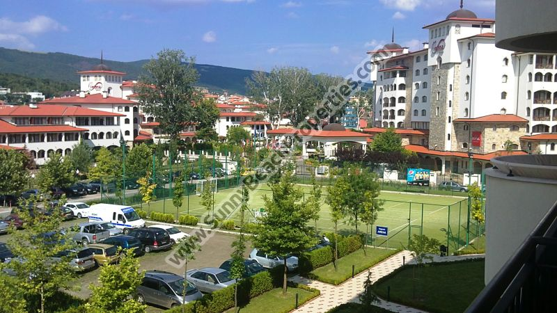 Park view studio apartment 2+2 for sale in beachfront 4**** Majestic aparthotel right on the beach in Sunny Beach, Bulgaria