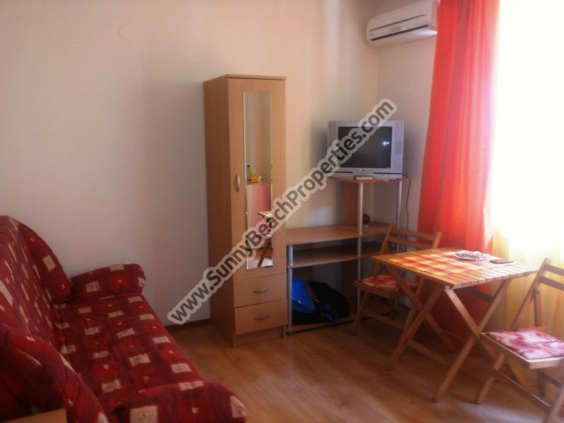 15500€ Furnished studio apartment in Amadeus XV, 300m. from downtown Sunny beach 500m from beach