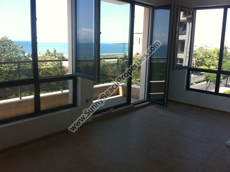 Sea view 2-bedroom/1.5-bathroom apartment for sale in residential building Neptun Anhialo 50m. from the beach  in Pomorie,  Bulgaria