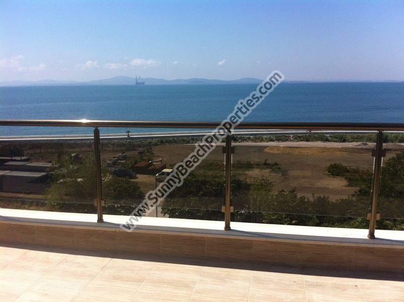 Sea view studio apartments for sale in residential building Neptun Anhialo 50m. from the beach  in Pomorie,  Bulgaria