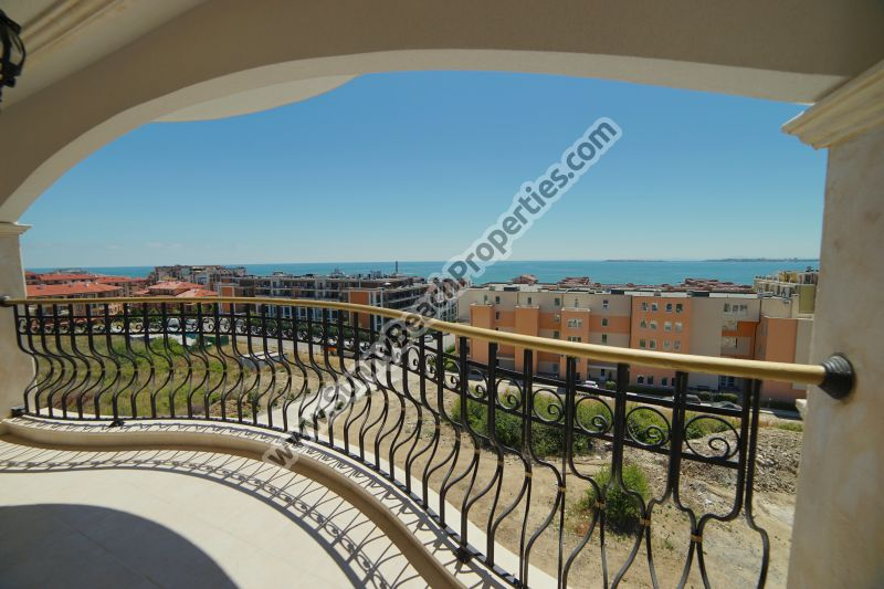 Stunning sea view luxury 2-bedroom/2-bathroom apartment for sale in luxury Harmony Suites 10 Saint Vlas, Bulgaria
