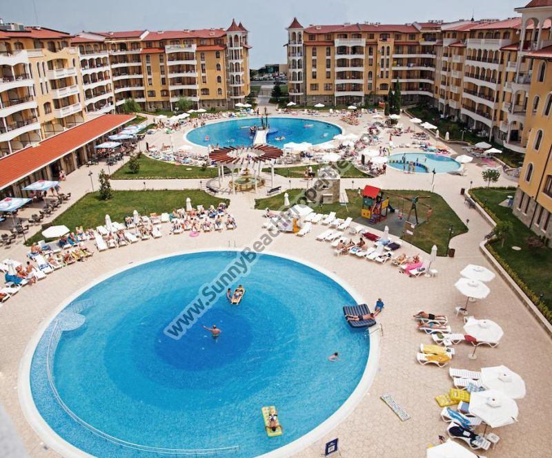 Furnished 1-bedroom apartment for sale in magnificent 4**** Royal Sun apartcomplex just 300 m. from beach & 700 m.  downtown Sunny beach