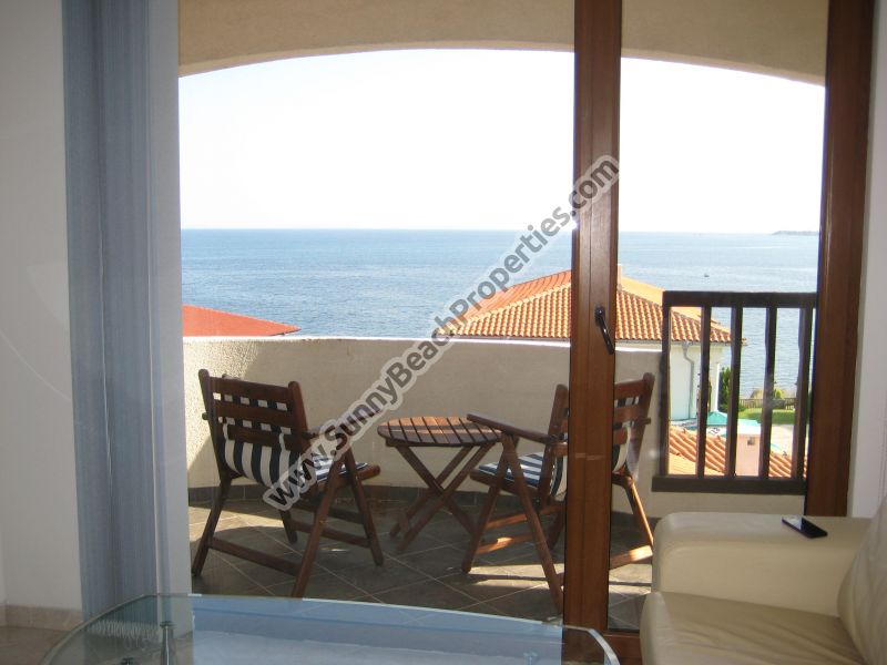 Sea view fuly furnished 2-bedroom/1.5bathroom apartment in complex Sun Coast Villas 50 metesr from the beach in St. Vlas