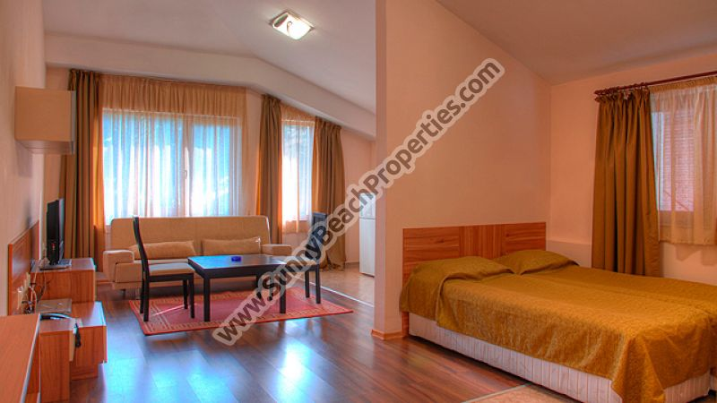 Ski studio apartments 600m. from the ski lift in Pamporovo ski resort, Bulgaria