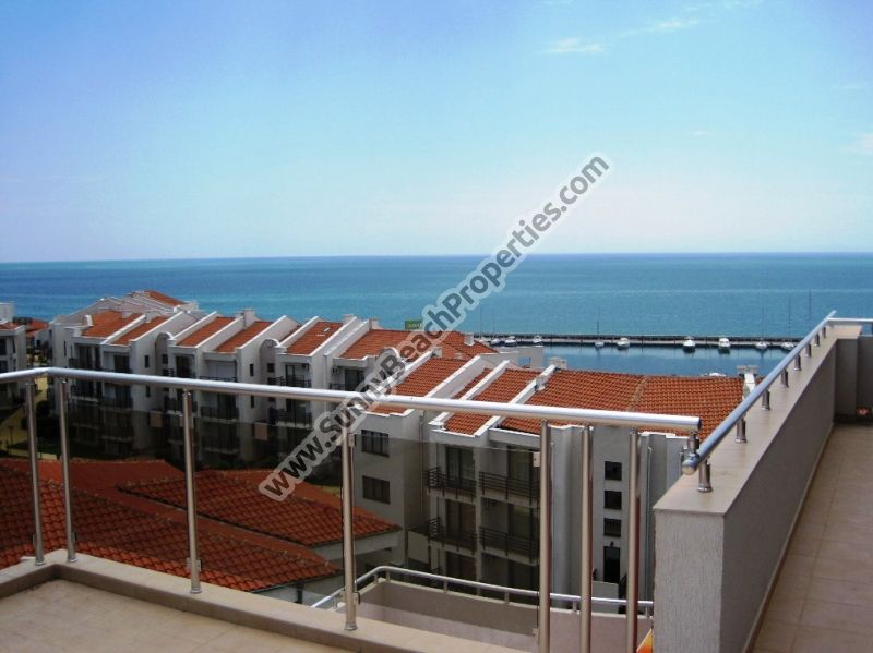 Gorgeous sea and mountain view studio for rent in Lazur 4, 150m. from the beach in Saint Vlas Bulgaria