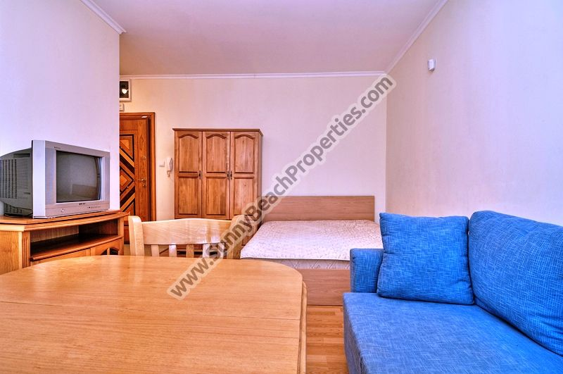 Furnished studio apartments for rent in Sun City 1, 300m from beach, Sunny beach, Bulgaria