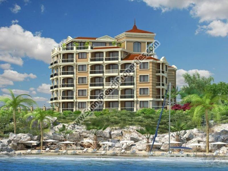 Seafront 1-bedroom apartments for sale in complex Santa Maria in Ravda , Bulgaria