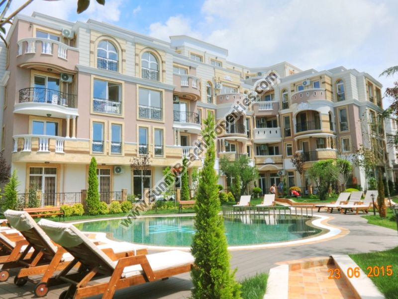 Studio apartment for sale in Mellia Park 10 in the central part of Ravda, 150m. from beach