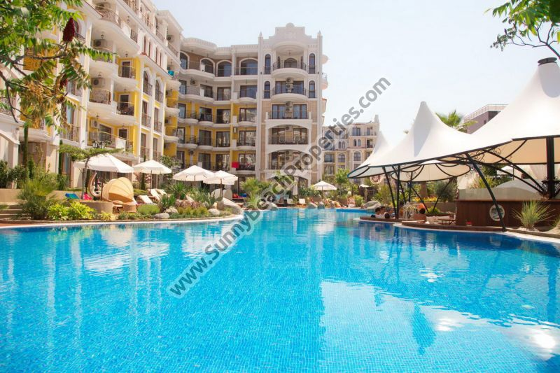 Luxury 1-bedroom apartments for sale in Harmony Suites 4, 5, 6, Monte Carlo, Sunny beach, Bulgaria