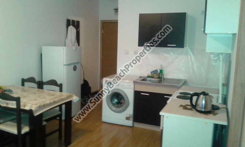 Furnished 2-bedroom apartment for sale in Sunny day 6 in the suburbs of Sunny beach, Bulgaria