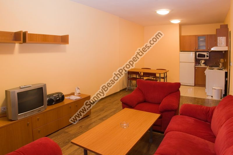 1-bedroom ski apartments  for rent  600m. from  the ski lift in Bansko ski resort, Bulgaria