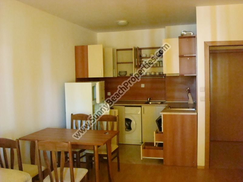 1-bedroom apartment for rent in apart-hotel Yassen 50m from the beach near center Sunny beach, Bulgaria