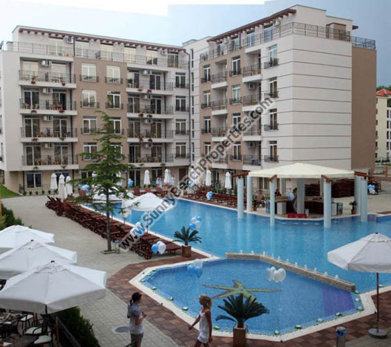 Furnished Studio Apartments: Pool View Spacious Furnished Studio Apartment For Sale In