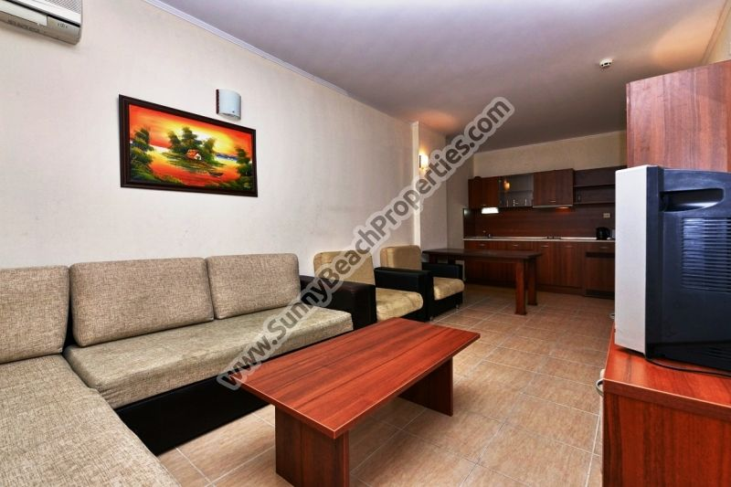 Furnished 1-bedroom apartment for rent in 4**** Grenada  50 meters from the beach in Sunny beach, Bulgaria