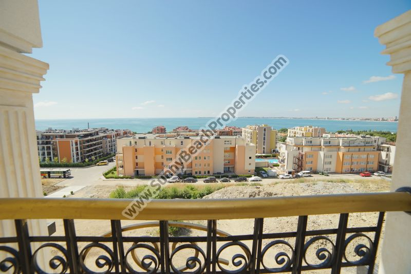 Stunning sea view luxury 1-bedroom apartment for sale in luxury Harmony Suites 10 Saint Vlas, Bulgaria