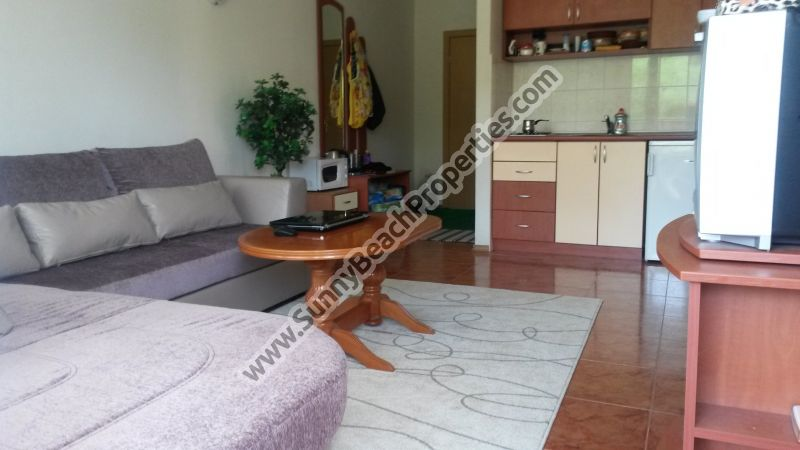Furnished 2-bedroom apartment for sale in Elite II, 350m. from the beach in Sunny beach, Bulgaria