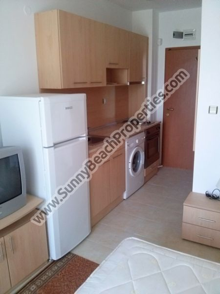 550€/m2. Furnished studio apartment in Sunny day 3 appr. 1000 m. from the beach in Sunny beach