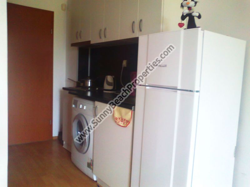Furnished studio apartment for sale in Sunny day 3 appr. 1000 m. from the beach in Sunny beach, Bulgaria