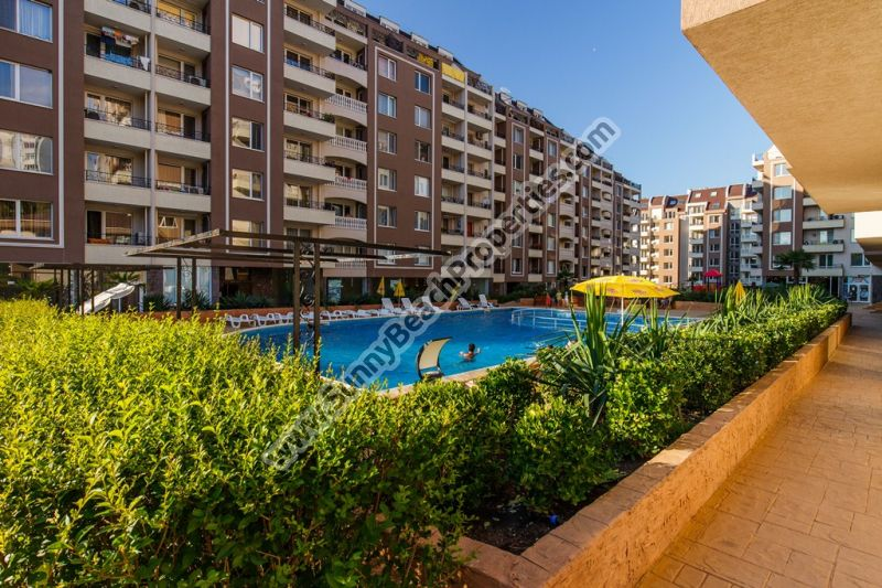 2-bedroom/2-bathroom apartment for sale in VIP Perla complex, next to the Sea Garden in Bourgas, Bulgaria
