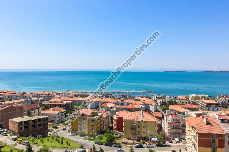 Sea and forest view 1-bedroom apartment for sale in Tower Hill 3, 500m from beach Saint Vlas, Bulgaria