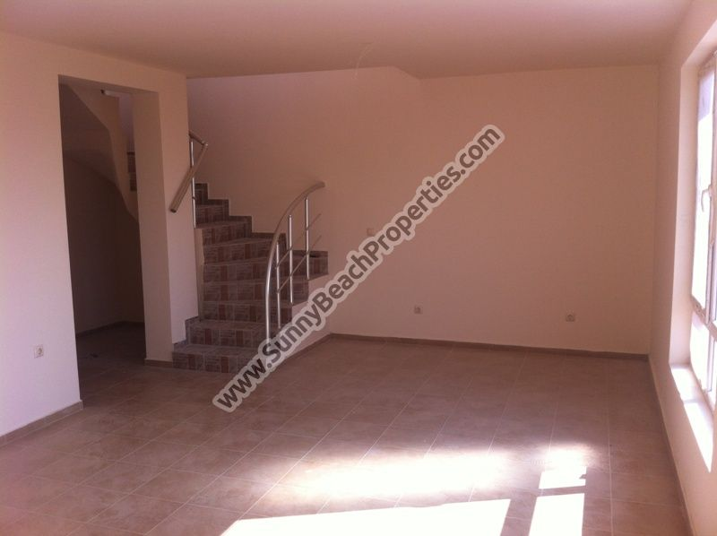 550€/m2. Sea view 1-bedroom maisonette apartment for sale in residential building Dolphin in Ravda 350m. from the beach